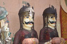Rajput Warriors Carvings | Rajput (from Sanskrit raja-putra,… | Flickr