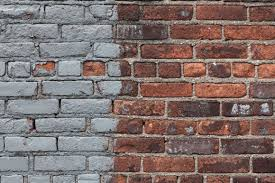 how to remove paint from brick with