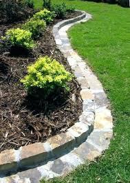 garden border edging stone