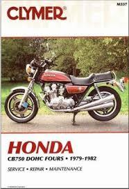 honda cb750 dohc fours 1979 1982 parts