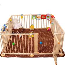 Wooden Play Yard Play Pen Fence For Kids On Carousell