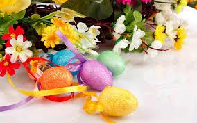 تحميل خلفيات عيد الفصح بيض عيد الفصح الزهور زينة عيد الفصح
