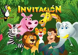 Edition Colibri 10 Invitaciones En Espanol Animales Del Zoologico