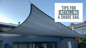 How To Attach Shade Cloth From House To Fence