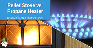 pellet stoves vs propane heaters