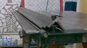 sheet metal bender brake the make diy