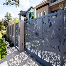 China Low Cost Decorative Aluminum Privacy Screen Fence For Corridors China Aluminum Garden Fence And Fence Privacy Screen Price