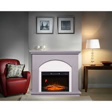 electric fireplace with 42inch mantle