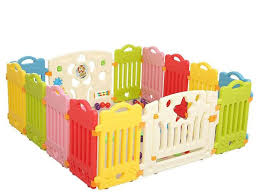 Amazon Com Xhwj Baby Play Fence Plastic Children S Fence Baby Safety Guardrail Baby Tasteless Toddler Crawling Safety Fence Home Kitchen