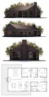 small modern farmhouse house plan from