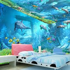 Wholesale Cartoon Ocean Wall Stickers Buy Cheap In Bulk From China Suppliers With Coupon Dhgate Com