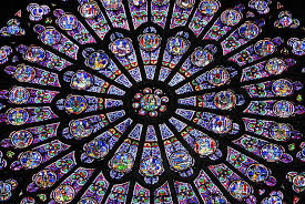 rose window from notre dame paris