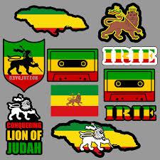 Amazon Com Lion Of Judah Sticker Decal Pack Lot Rasta Rastafari Jamaica Reggae 420 Skate Arts Crafts Sewing