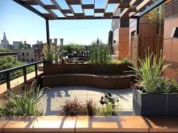 brooklyn rooftop garden 6 moderno