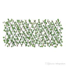 2020 Expandable Artificial Faux Ivy Leaf Hedge Panels On Roll Garden Screen Fence Decorations From Hifispeakers 32 17 Dhgate Com