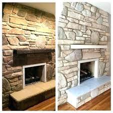 whitewashed fireplace white wash with