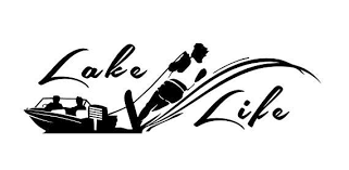 Lake Life Decal Water Skier Decal Boat Decal Vinyl Decal Car Truck Auto Vehicle Window Custom Sticker Water Sports Decal Boat Decals Car Decals Vinyl Lake Life