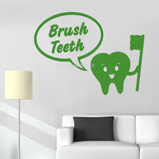 Sale Brush Teeth Vinyl Walls Decal Cars Walls Tumblers Cups Laptops Windows Home Laptop Computer Truck Car Sticker Decal Ll168 Wall Stickers Aliexpress