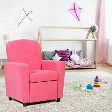Kids Living Room Recliner Sofa Armrest Chair Sofas Furniture
