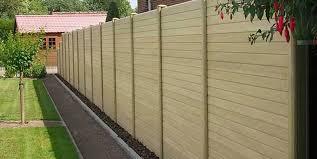 Composite Fencing Worksop Deeplas Posts Panels Fixings Dfws