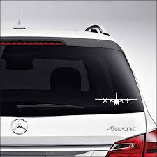 Amazon Com Aampco Decals C 130 Hercules Military Plane Car Truck Motorcycle Windows Bumper Wall Decor Vinyl Decal Sticker Size 8 Inch 20 Cm Wide Color Gloss White