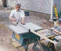 10 Inch Portable Table Saws Jlc Online