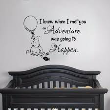 Winnie The Pooh Wall Stickers Nursery Kids Baby Room Vinyl Art Decal Decor Nnxv For Sale Online Ebay