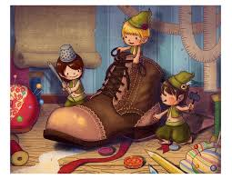 Image result for the elves and the shoemaker