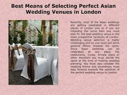 ppt asian wedding venues london