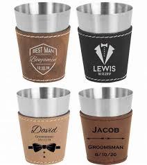 groomsmen shot glasses bachelor party