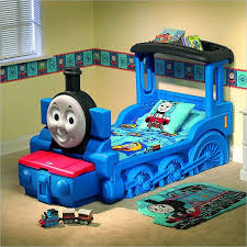 the friendly thomas friends train bed