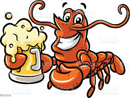 Lobster And Beer Stock Illustration ...