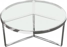 silver base round cocktail table