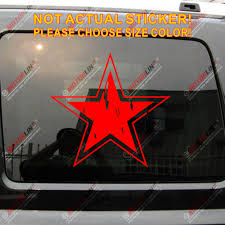 Russian Air Force Ussr Red Star Distressed Style Soviet Vinyl Car Decal Bumper Sticker Choose Your Size Bumper Sticker Vinyl Car Decalvinyl Car Aliexpress