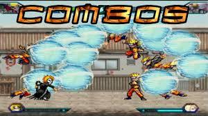Bleach vs Naruto Combos