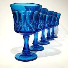 cobalt blue water glasses speglar info