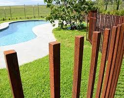 Below We Take A Look At 27 Creative Swimming Pool Fencing Concepts For Domestic Houses Sharing Some Innovati Pool Fence Fence Design Modern Fence Design