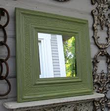tin ceiling tile mirror 2 x2 antique