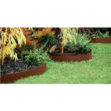 wpc pvc composite rolled edging border