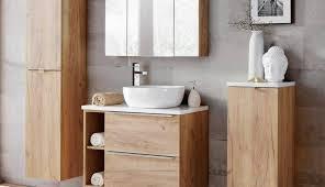 white wood bathroom mirror cabinet