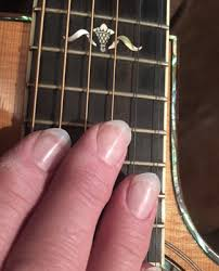 about guitars fingernails