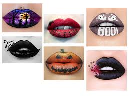 creative halloween lip makeup looks