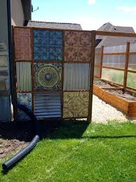 Corrugated Metal Fence Update Part 2 Privacy Fence Designs Corrugated Metal Fence Fence Design