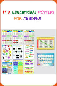 Educational Posters 10 Kids Posters School Poster Etsy In 2020 Learning Poster Education Poster School Posters