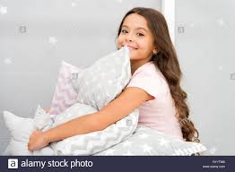Girl Kid Hug Cute Pillow Cute Kids Pillows They Will Love To Cuddle Find Decorative Pillows And Add Fun To Room Happy Childhood Cozy Home Adorable Cushions For Your Child Room Stock