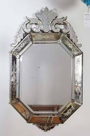 hollywood regency venetian mirror with