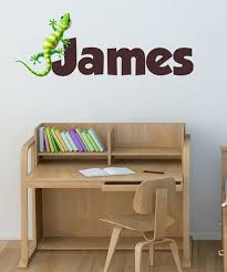 Take A Look At This Gecko Personalized Wall Decal Set By Lollipop Walls On Zulily Today Personalized Wall Decals Wall Decals Printing On Fabric