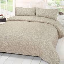 damask duvet cover bedding set with