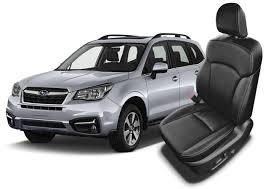 subaru forester leather seats seat