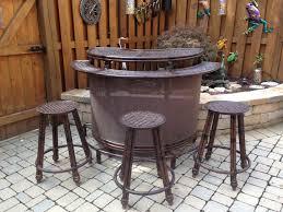 aluminum outdoor bar stools sets bob